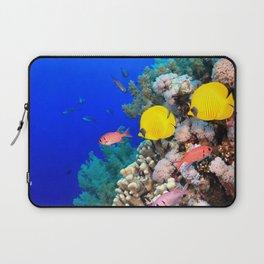 Impressive Cute Colorful Tropic Fish Coral Reef HD Laptop Sleeve