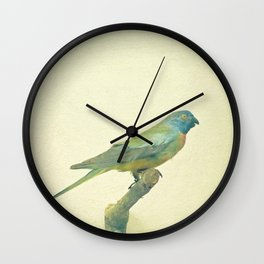 Bird Study #3 Wall Clock
