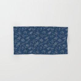 Molecules // Navy Hand & Bath Towel