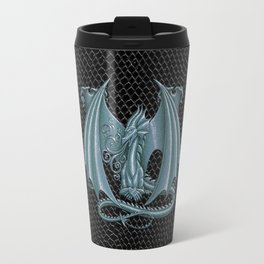 "Dragon Letter M, from ""Dracoserific"", a font full of Dragons Travel Mug"