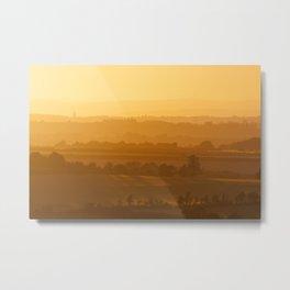 Wilmington Sunset Metal Print