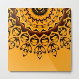 Etno design 01 Metal Print
