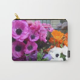 Flower Shop Window Carry-All Pouch