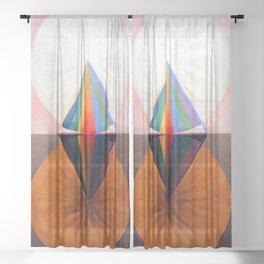 Hilma af Klint Swan XII Sheer Curtain