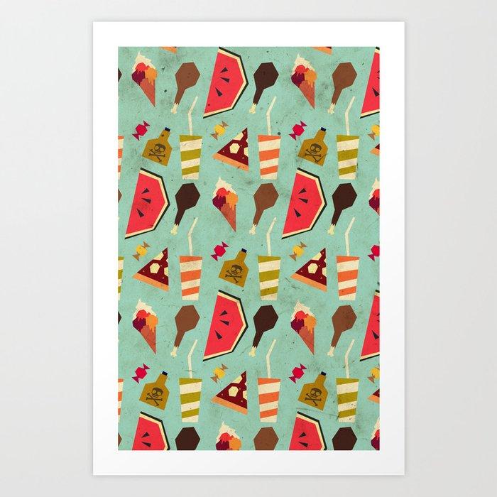 Yummy! Art Print