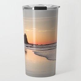 Sunrise at Black Rock, Luz-Lagos, Portugal Travel Mug