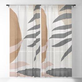 Abstract Art 54 Sheer Curtain