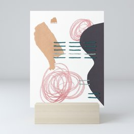 Stitched Abstraction #5 Mini Art Print