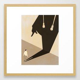 The Trial Framed Art Print