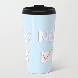 Yes No Travel Mug