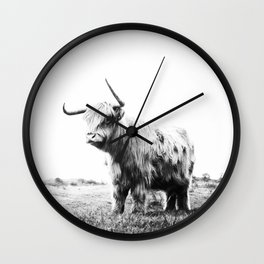 Retrospection #society6 #decor #buyart Wall Clock