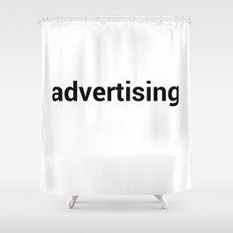advertising Shower Curtain