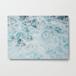 Churning Waters Metal Print