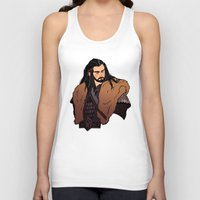 thorin Tank Tops featuring Thorin by rdjpwns