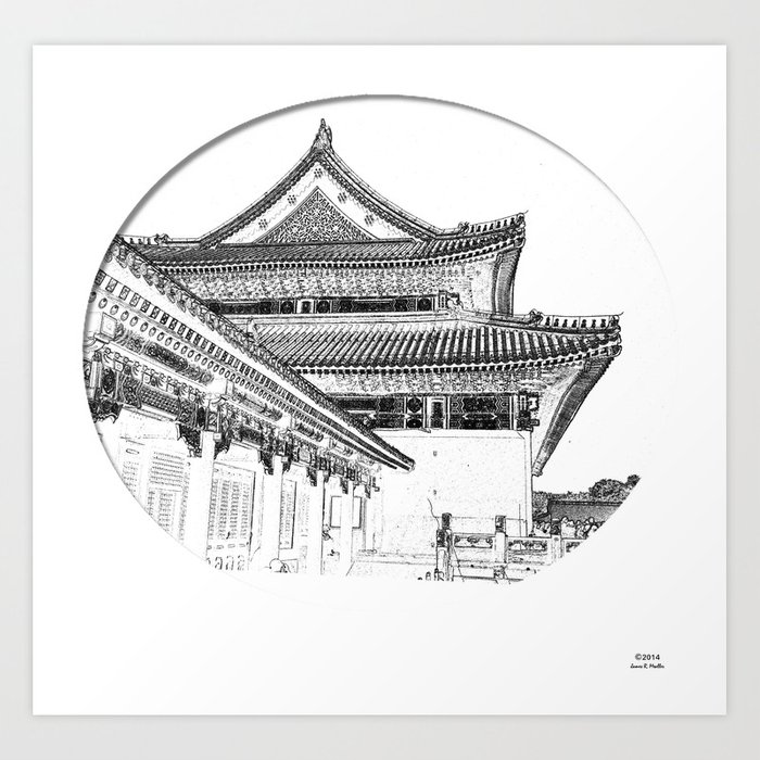 On the Edge of Time Art Print