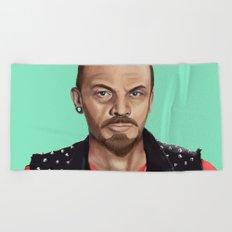 Hipstory -  Lenin Beach Towel