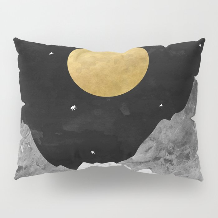 Moon and Stars Pillow Sham
