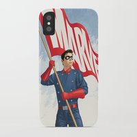 bucky iPhone & iPod Cases featuring Bucky Barnes by Arne AKA Ratscape