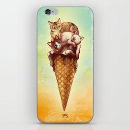 Cats Cream iPhone Skin