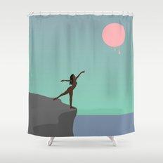 Blood Moon 2 Shower Curtain