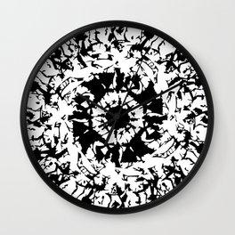 KALÒS EÎDOS IX-II Wall Clock