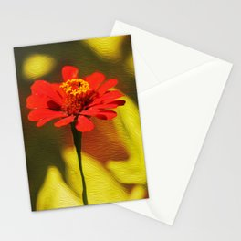 Born In Rose Colour Stationery Cards