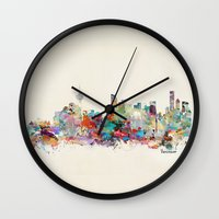 vancouver Wall Clocks featuring Vancouver  by bri.buckley