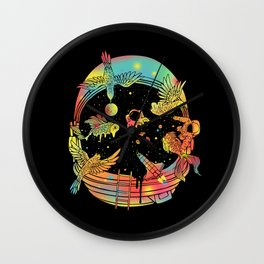 Depth of Discovery (A Case of Constant Curiosity) Wall Clock