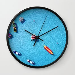 Summer Toys 2 Wall Clock