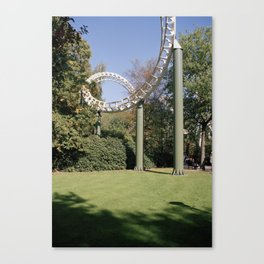 Fears & frills Canvas Print