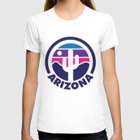 arizona T-shirts featuring Arizona by Lopez91
