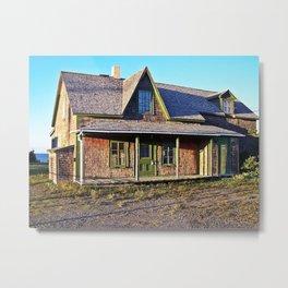 Rustic Homestead Metal Print