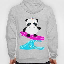 Surfing Pandacorn Hoody