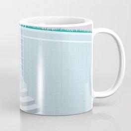 Emptied, Drained  Coffee Mug