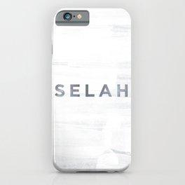 Selah iPhone Case