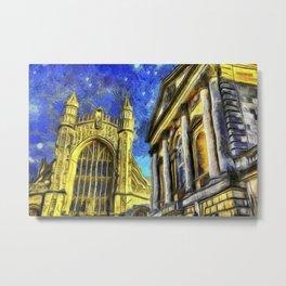 City Of Bath Vincent Van Gogh Metal Print