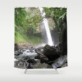 Hard Water Shower Curtain