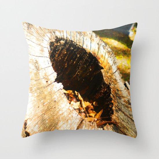 Fall Graveyard Throw Pillow