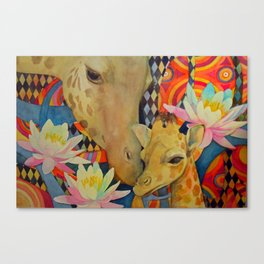 Mother Love Canvas Print