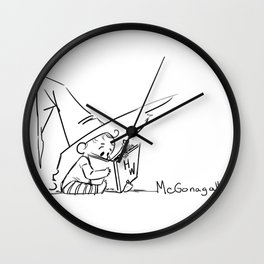 Mcgonagall Baby Halloween Witch Wall Clock