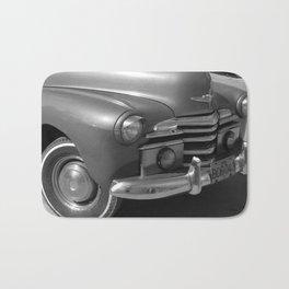 Cuban Car I Bath Mat