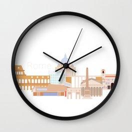 Rome Wall Clock
