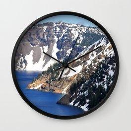 CRATER LAKE - 1 Wall Clock