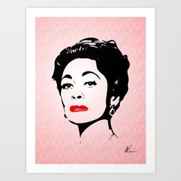 Mommie Dearest - Bring me the Axe! - Pop Art Art Print