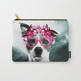 Wild Beauty Girly Doggy  Carry-All Pouch