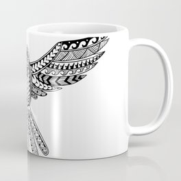 Dove Tribal Tattoo Coffee Mug