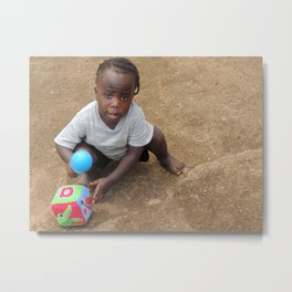 African child Metal Print