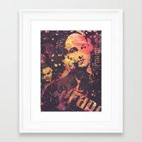 sopranos Framed Art Prints featuring The Sopranos (in memory of James Gandolfini)3 by Nechifor Ionut