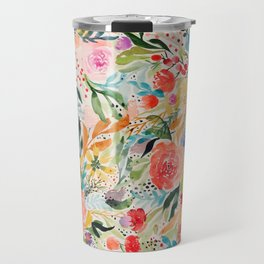 Flower Joy Travel Mug