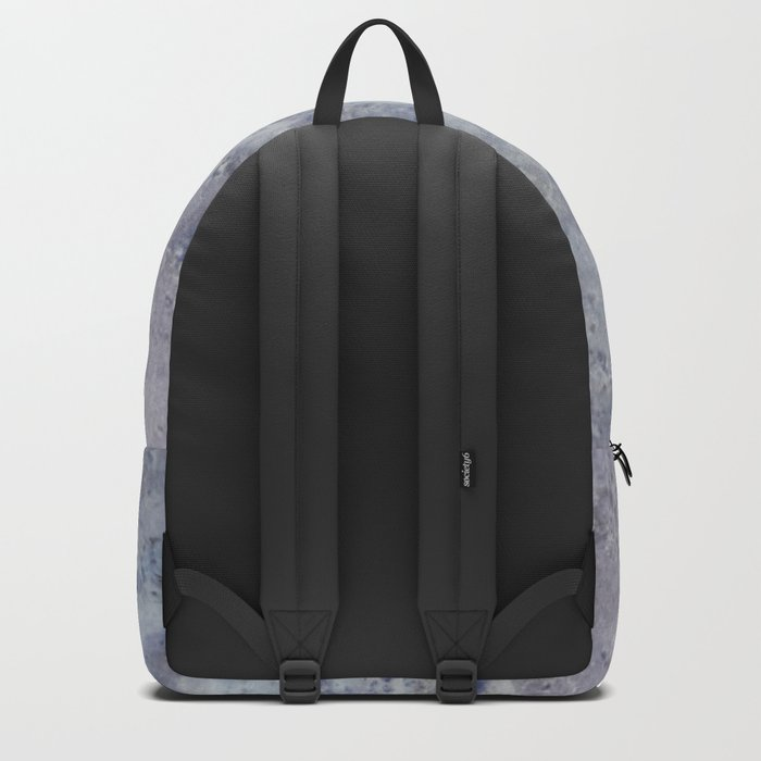 Speckled Blue and Gray Marble Backpack